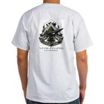 Utah Space Command Green Ash Grey T-Shirt