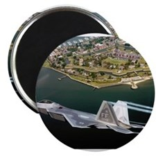 "Raptor over Fort Monroe 2.25"" Magnet (10 pack)"