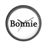 Bonnie - Personalized Wall Clock