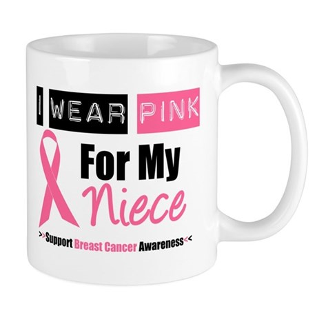 I Wear Pink For My Niece Mug