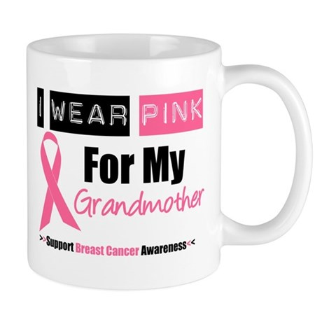 I Wear Pink (Grandmother) Mug