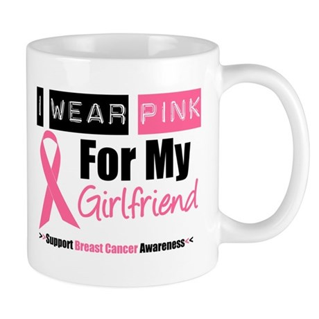 I Wear Pink (Girlfriend) Mug
