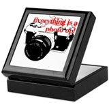 Everything's a photo op Keepsake Box
