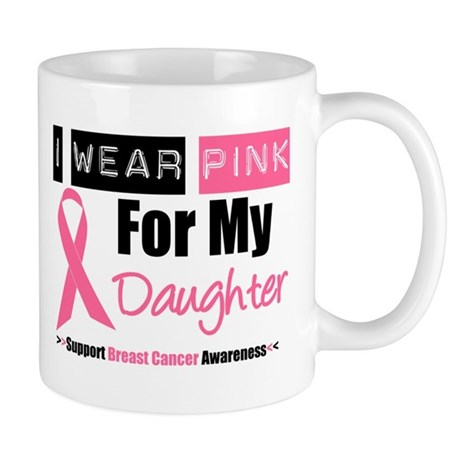 I Wear Pink (Daughter) Mug