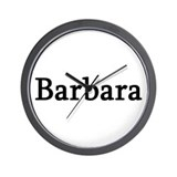 Barbara - Personalized Wall Clock