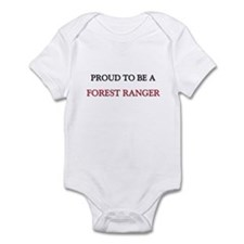 Proud to be a Forest Ranger Infant Bodysuit