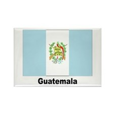 Guatemala Flag Rectangle Magnet