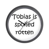 Cool Tobias Wall Clock