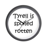 Cool Tyrell Wall Clock