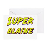 Super blaine Greeting Cards (Pk of 10)