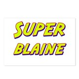 Super blaine Postcards (Package of 8)