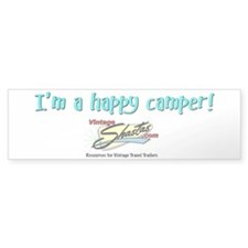 Happy Camper! Bumper Bumper Sticker