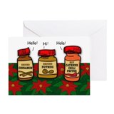 Seasonings Greetings Greeting Card