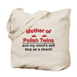 Mother of Polish Twins Tote Bag