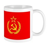 New USSR Flag Coffee Mug