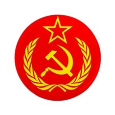 "New USSR Flag 3.5"" Button (100 pack)"