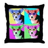 Welsh corgi Throw Pillows