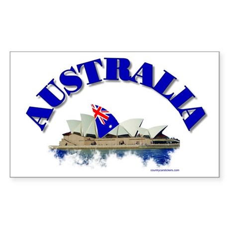 Sydney Opera House Rectangle Sticker