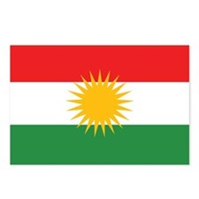 Kurdish Flag Postcards (Package of 8)
