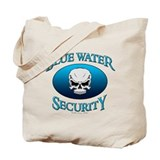 Blue Water Security Tote Bag