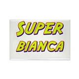 Super bianca Rectangle Magnet