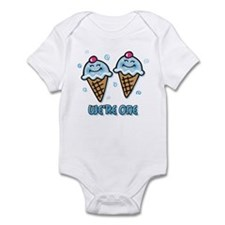 Ice Cream We're 1 Boys Infant Bodysuit