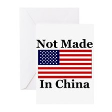 Not Made In China - America Greeting Cards (Pk of
