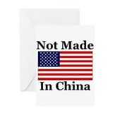Not Made In China - America Greeting Card