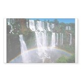 Iguazu Falls Rectangle Decal