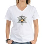 Calif State Ranger Women's V-Neck T-Shirt