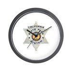 Calif State Ranger Wall Clock