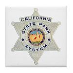 Calif State Ranger Tile Coaster