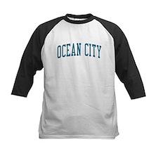 Ocean City New Jersey NJ Blue Tee