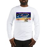 XmasSunrise/2 Beardies Long Sleeve T-Shirt
