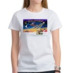XmasSunrise/2 Beardies Women's T-Shirt
