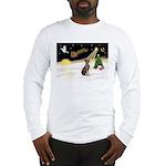 Night Flight/Weimaraner Long Sleeve T-Shirt