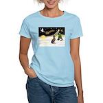 Night Flight/Weimaraner Women's Light T-Shirt