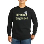 Kitchen Engineer Long Sleeve Dark T-Shirt