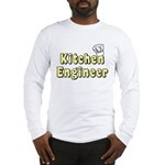 Kitchen Engineer Long Sleeve T-Shirt