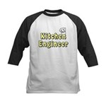 Kitchen Engineer Kids Baseball Jersey