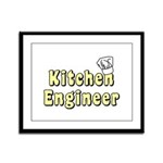 Kitchen Engineer Framed Panel Print
