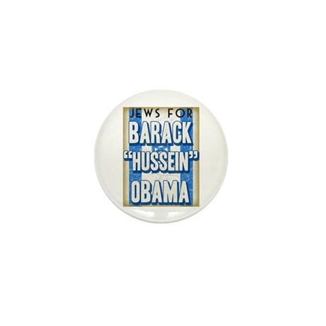 Jews For Barack Obama Mini Button