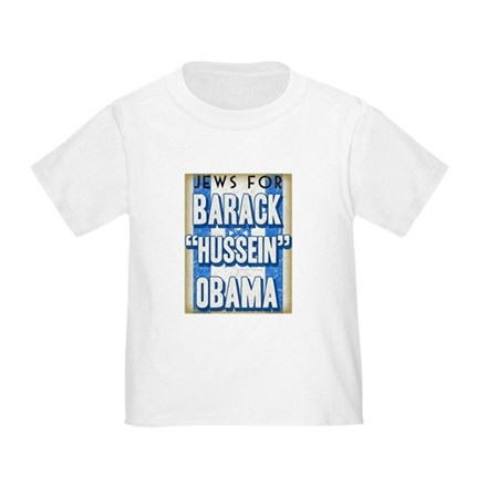 Jews For Barack Obama Toddler T-Shirt