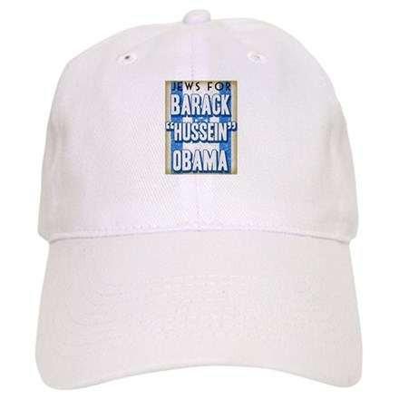 Jews For Barack Obama Cap