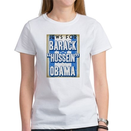 Jews For Barack Obama Women's T-Shirt