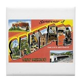 Santa Fe New Mexico NM Tile Coaster