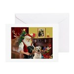 XmasSunrise/ 4 Labs Greeting Cards (Pk of 10)