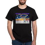 XmasSunrise/Irish Wolf #4 Dark T-Shirt