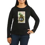Bells and Holly Women's Long Sleeve Dark T-Shirt