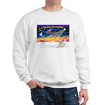 XmasSunrise/Pyrenees 1 Sweatshirt